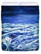Promethea Ocean Triptych 3 Duvet Cover