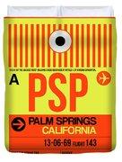 Psp Palm Springs Luggage Tag I Duvet Cover