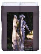 Purple Angel Duvet Cover