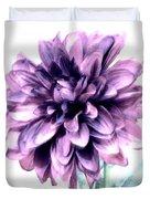 Purple Blend Petals Two Duvet Cover