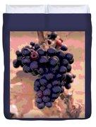 Purple Grape Bunches 18 Duvet Cover
