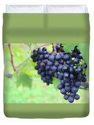 Purple Grape Bunches 21 Duvet Cover