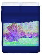 Purple Tree Reverie Duvet Cover