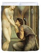 Pygmalion And The Image, The Soul Attains - Digital Remastered Edition Duvet Cover