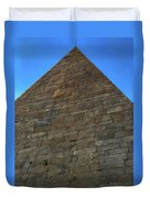 Pyramid Of Cestius Duvet Cover