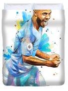 Raheem Sterling, Manchester City Duvet Cover