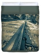 Rail Away  Duvet Cover