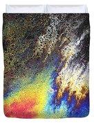 Rainbow Explosion Duvet Cover