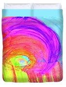 Rainbow Shell Duvet Cover