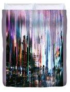 Rainy Street Duvet Cover