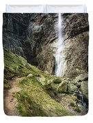 Raysko Praskalo Waterfall, Balkan Mountain Duvet Cover