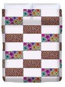 Rectangular Patchwork Duvet Cover