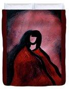 Red Blanket Duvet Cover