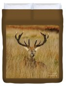 Red Deer Portrait 2 Duvet Cover