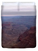 Red Grand Canyon Duvet Cover