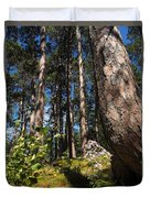 Red Pine Itasca Duvet Cover