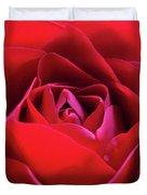 Red Rose 3 Duvet Cover