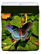 Red-spotted Purple Butterfly 017 Duvet Cover