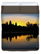Reflections Of Angkor Duvet Cover