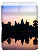 Reflections Of Angkor Wat - Siem Reap, Cambodia Duvet Cover