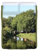 Reflections Of Bridgewater Canal - 1 Duvet Cover