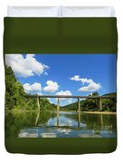 Reflections Of The Ozarks Duvet Cover