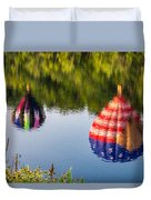 Reflections On The Androscoggin Duvet Cover