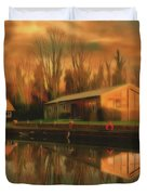 Reflections On The Wey Duvet Cover