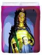 Religious Vision Duvet Cover
