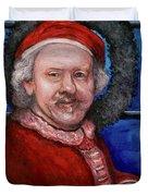 Rembrandt Santa Duvet Cover