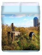 Retired John Deere Tractor 2 Duvet Cover