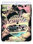 Retro Roadvival Duvet Cover