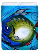 Return Fish Duvet Cover