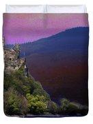 Rheinstein Castle Duvet Cover