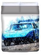Richard Petty Superbird Duvet Cover