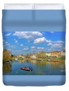 Richmond Upon Thames - Panorama Duvet Cover