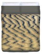 Ripples In The Sand Duvet Cover