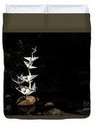 Rise Up And Fly Duvet Cover