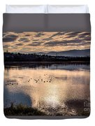 River Of Clouds Duvet Cover