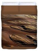 River Of Sand Duvet Cover