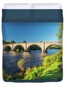 River Tay, Dunkeld, Perthshire Duvet Cover