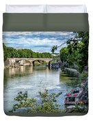 Riverboats Duvet Cover