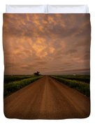 Road To Huron  Duvet Cover