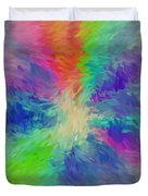 Road To Paradise Duvet Cover
