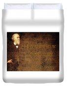 Robert Browning 1 Duvet Cover
