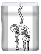 Robot Charging Duvet Cover