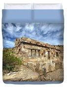 Rock House Duvet Cover