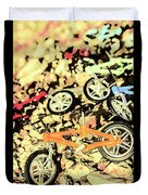Rocky Racers Duvet Cover