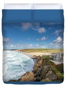 Rolling Waves Duvet Cover