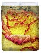 Rose Painting Duvet Cover
